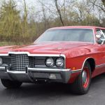 1971 Ford Galaxie 500 Wagon With Police V 8 Up For Auction