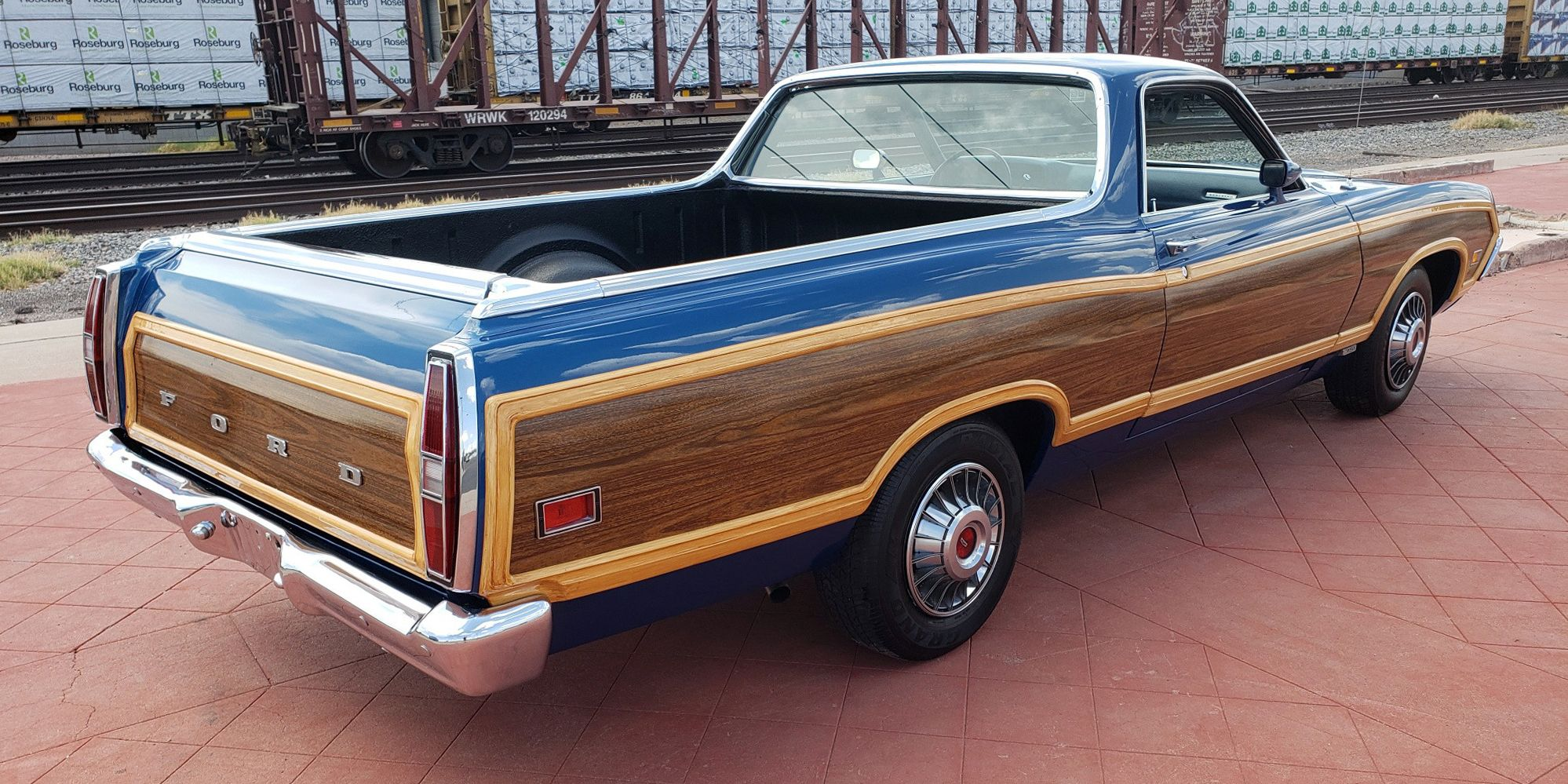 hight resolution of a 1971 ford ranchero squire for when an el camino doesn t have enough wood