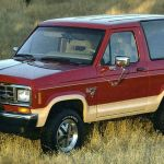 The Bronco Ii Paved The Way For The Ford Explorer And Small But Plush Suvs