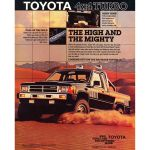 1986 Toyota 4x4 Turbo Sr5 Xtracab Sport Is Both High And Mighty