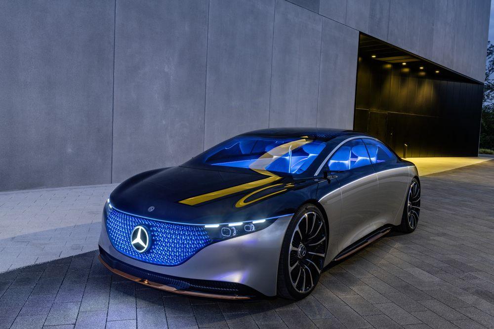Mercedes-Benz Vision EQS Concept | AUTOHAGE.COM
