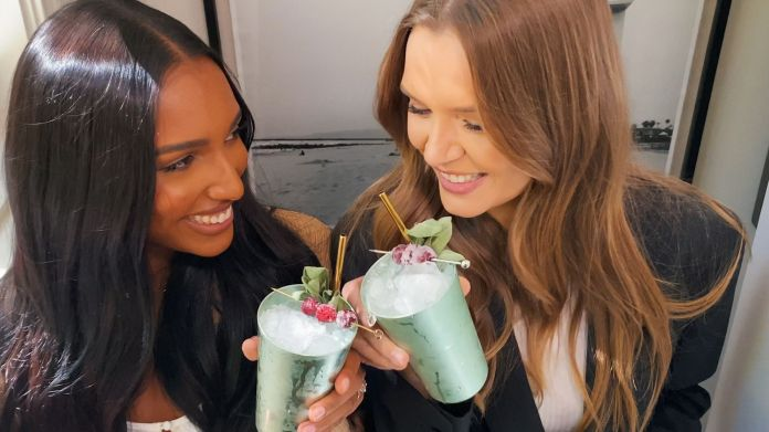josephine skriver and jasmine tookes for tanqueray