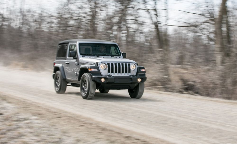 medium resolution of the 2018 jeep wrangler jl two door sticks to its core values review car and driver