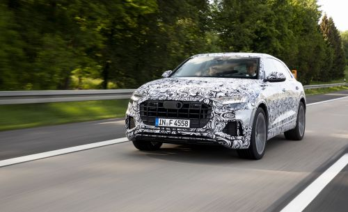 small resolution of 2019 audi q8 going for a spin in audi s new flagship suv