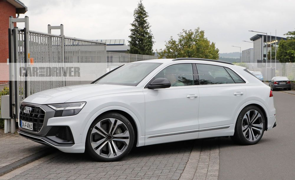 medium resolution of 2019 audi sq8 a sportier sporty q7 uncovered