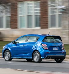 the 2019 chevrolet sonic hatchback is still good but not a great value [ 3500 x 2139 Pixel ]