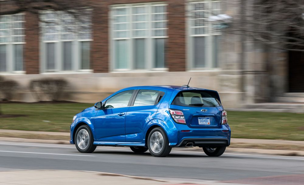 medium resolution of the 2019 chevrolet sonic hatchback is still good but not a great value