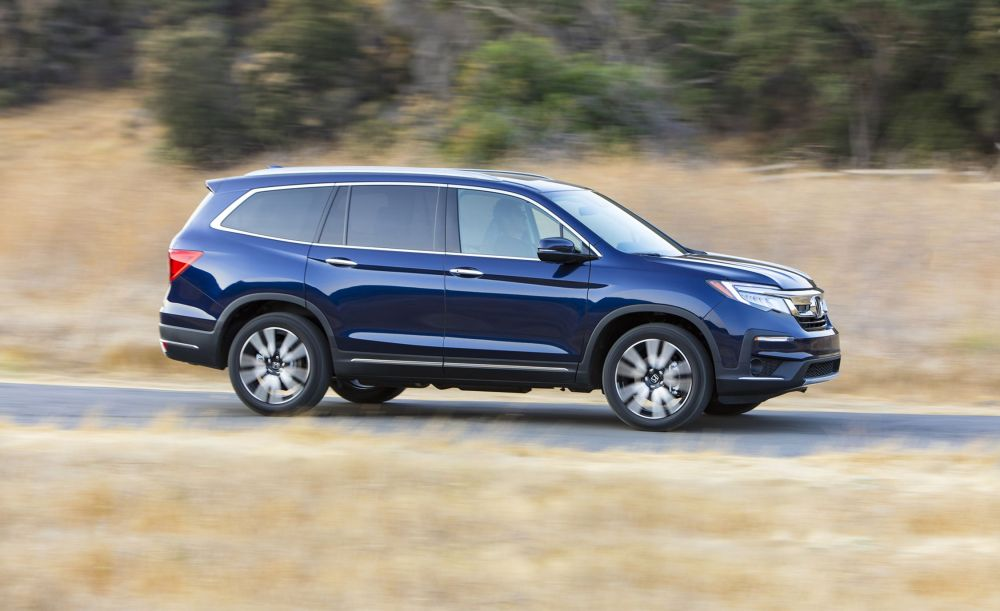 medium resolution of the 2019 honda pilot looks tougher and drives better