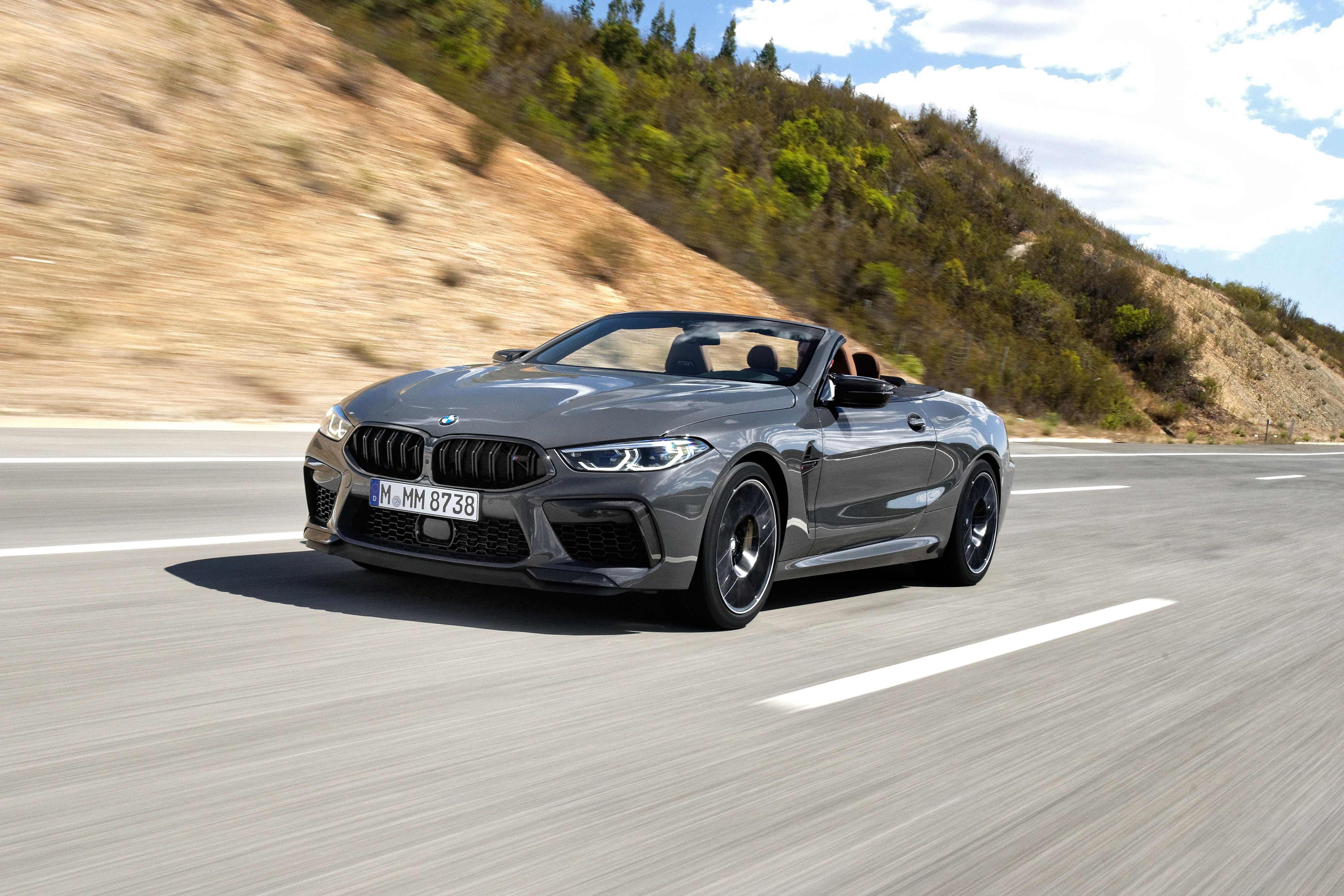 This engine is rated at 441 kw (591 hp) at 6,000 rpm and 750 n⋅m (553 lb⋅ft) in the standard m8 model, with peak power increasing to 460 kw (617 hp) at 6,000. 2020 Bmw M8 Coupe And Convertible Drive Well And They Re Fast As Hell