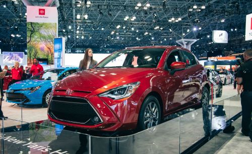 small resolution of 2020 toyota yaris hatchback brings more mazda goodness to toyota s subcompact