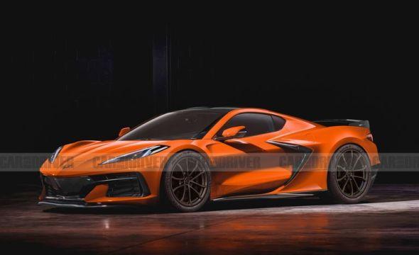 2022 chevrolet corvette z06 artist's rendering