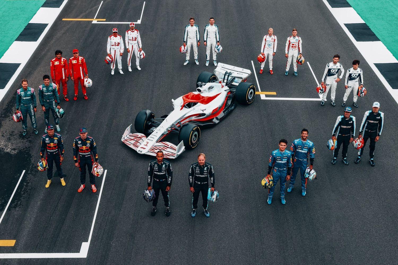2022 formula 1 car