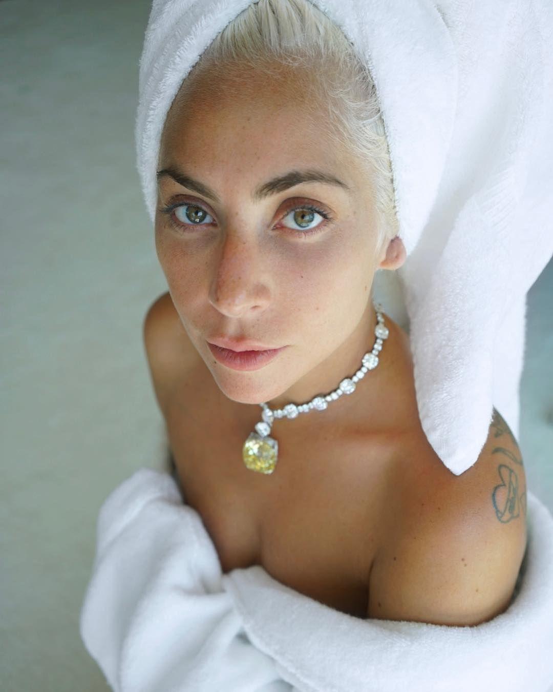 Lady Gaga Uses Vitamin C Serum for Flawless MakeupFree Skin