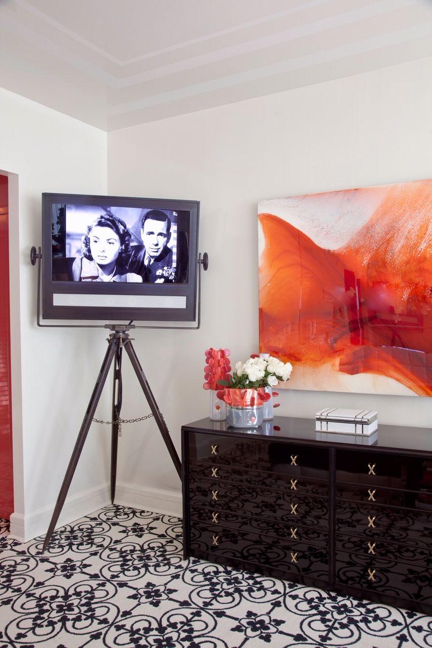 Tv In Small Bedroom : small, bedroom, Clever, Hidden, Ideas, According, Designers