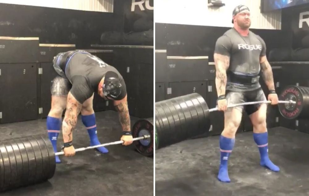 Watch The Mountain Casually Deadlift 970 Freaking Pounds