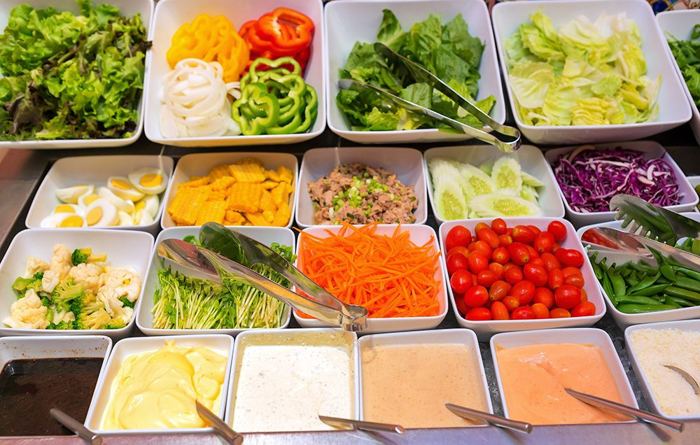 The Best and Worst Salad Toppings According to RDs