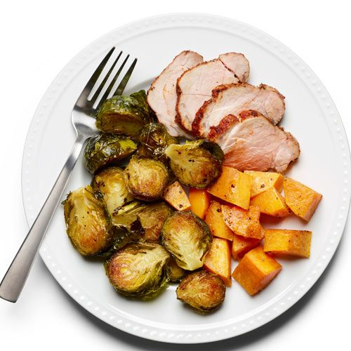 Pork with Roasted Vegetables