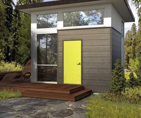 Amazon Is Selling A Tiny Home Cube That S Delivered In 3