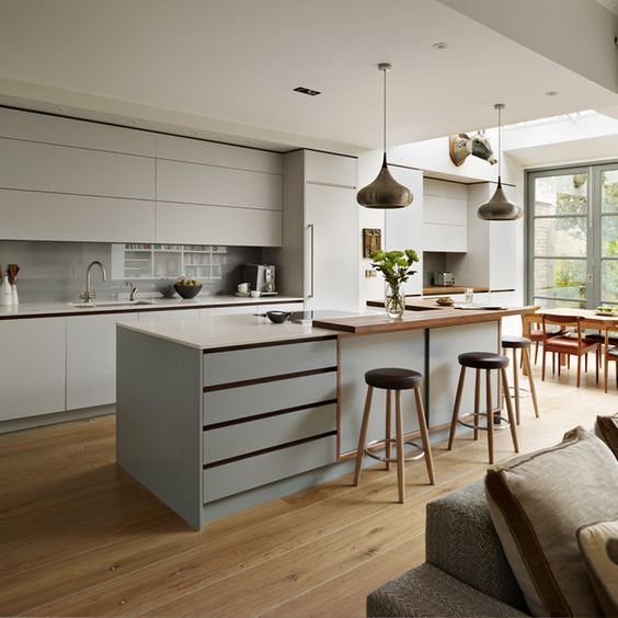Cocina minimalista  Ideas para decorar la cocina