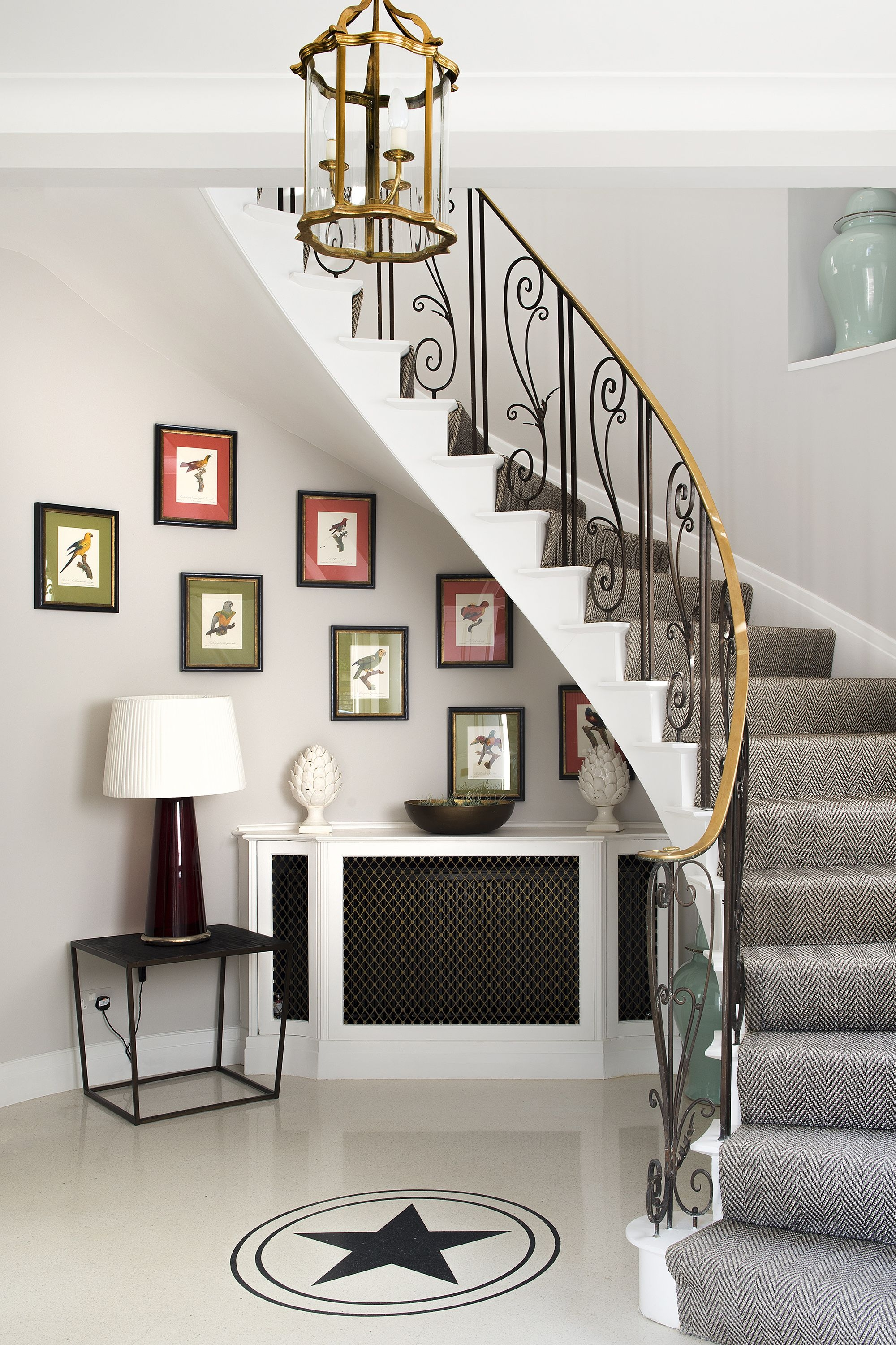 27 Stylish Staircase Decorating Ideas How To Decorate Stairways | Staircase In Hall Design | 2 Storey House | Low Budget | Step Side Wall | Steel Verandah | Mansion