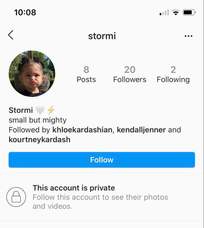 Stormi Webster Instagram