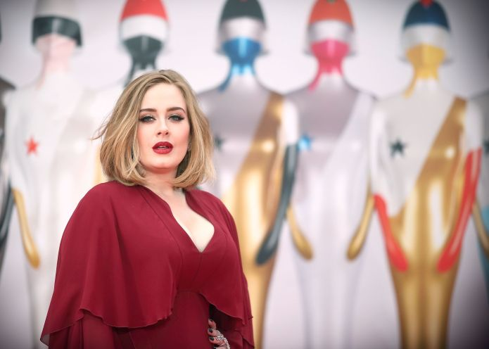Adele, in a photo file.