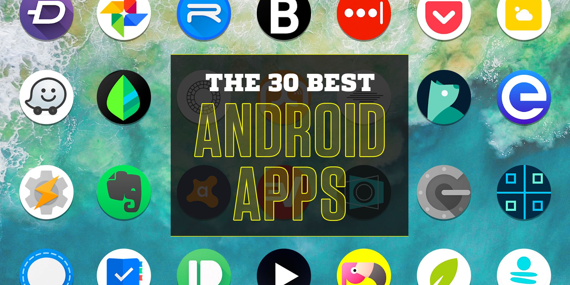 30 best android apps