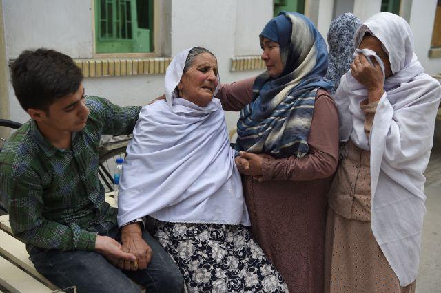 topshot afghanistan unrest