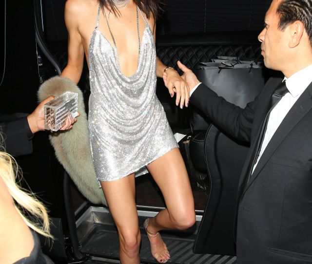 Kendall Jenner Looked Like A Sexy Disco Ball At Her Birthday Party