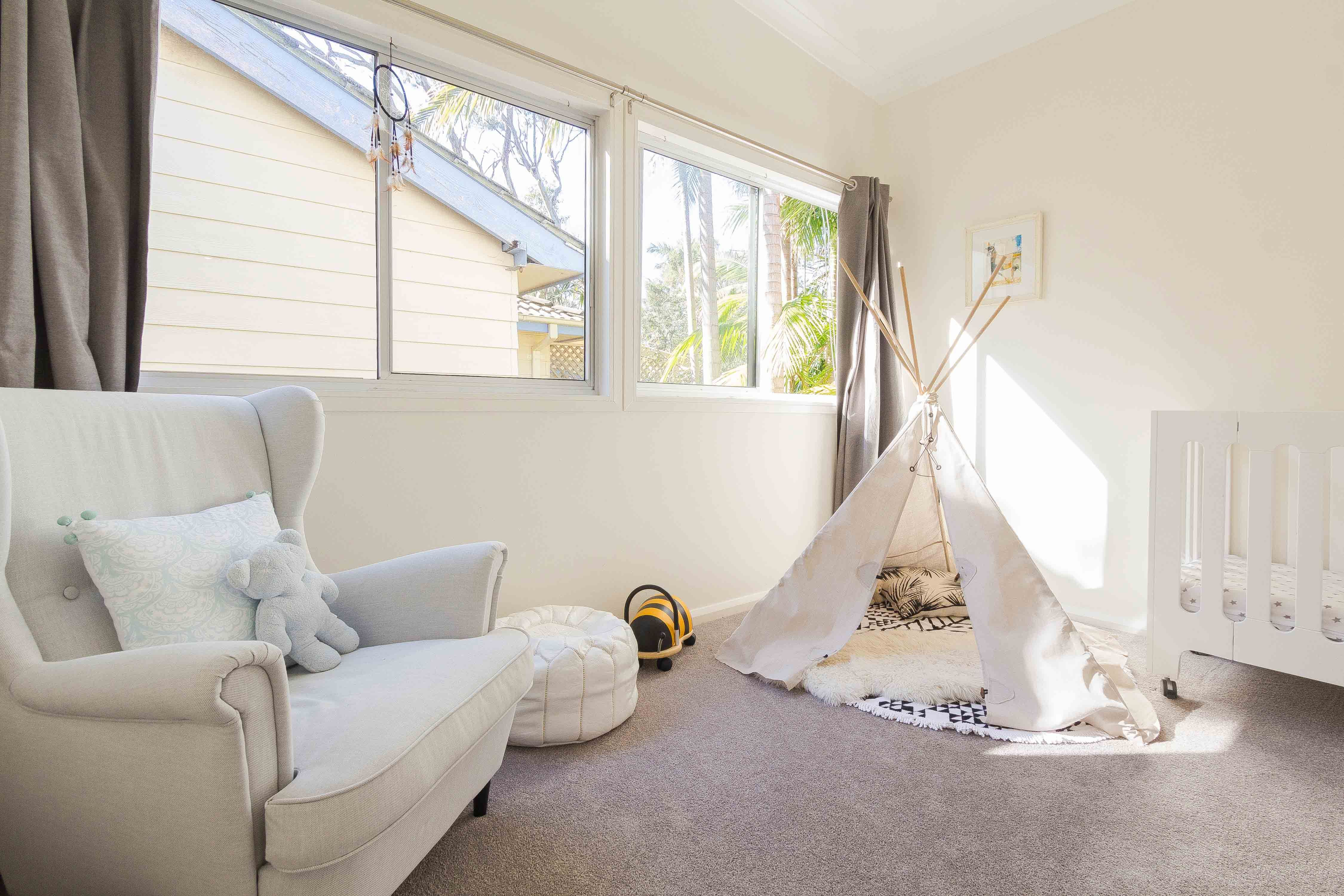 White Is Most Popular Colour For Nurseries and Kids Bedrooms