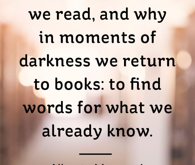 Alberto Manguel Book Quotes