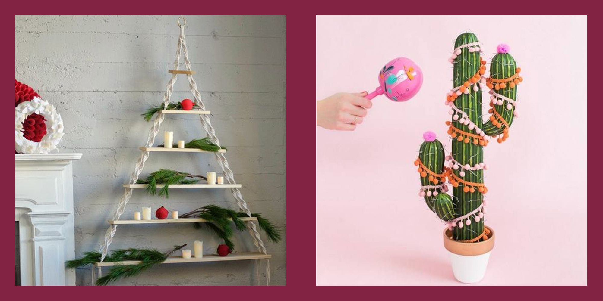 26 Alternative Christmas Tree Ideas Modern Replacements
