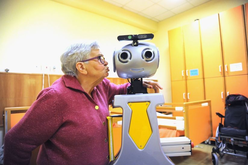 Robot For Elderly People