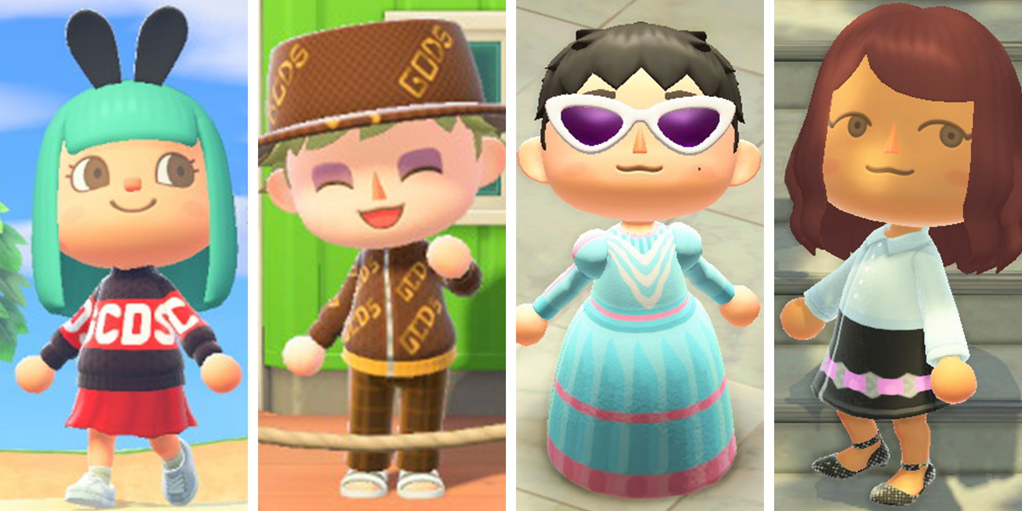 animal crossing designs by marc jacobs and gcds