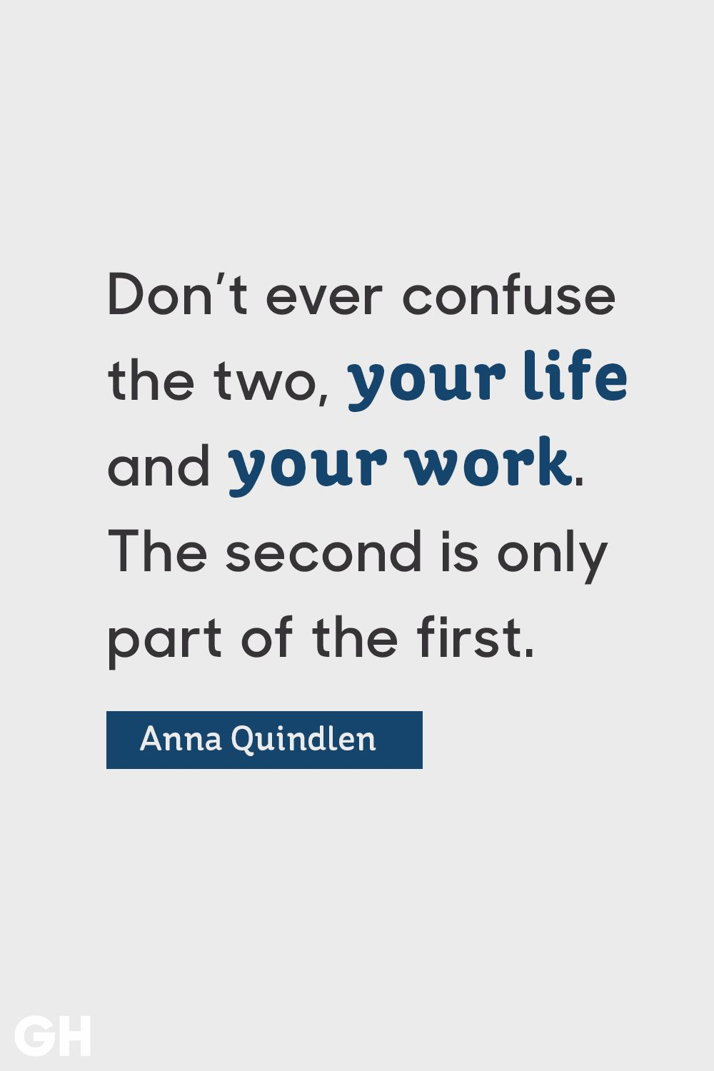 Image of: Sad Anna Quindlen Graduation Quote Good Housekeeping 15 Inspirational Graduation Quotes Best Quotes For High School And