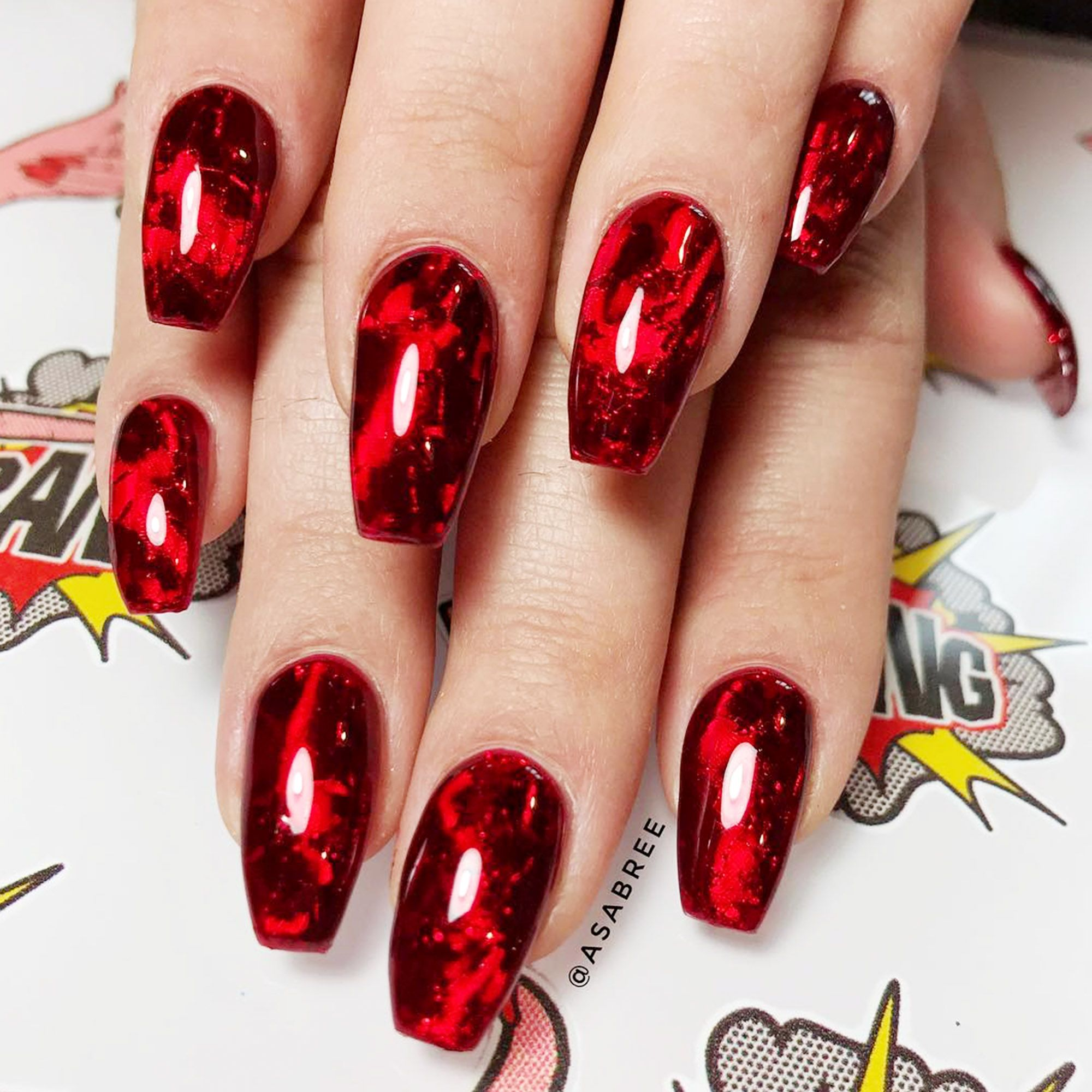 halloween nail art ideas 2018
