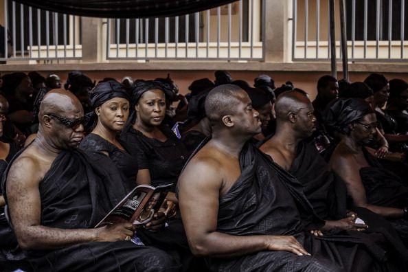 Funeral de Ashanti en kumasi