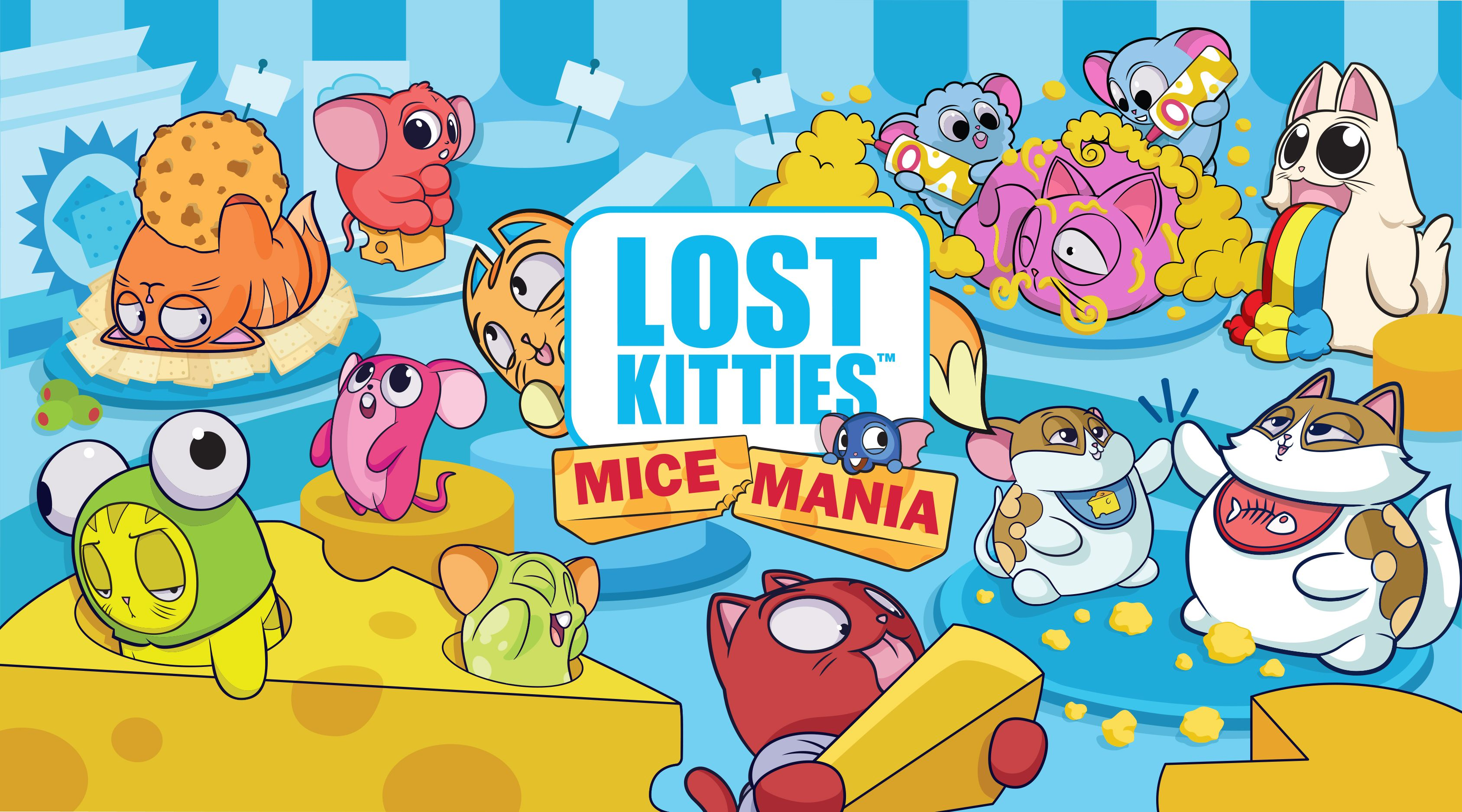 Hasbro Is Bringing Lost Kitties Mice Mania to Stores This