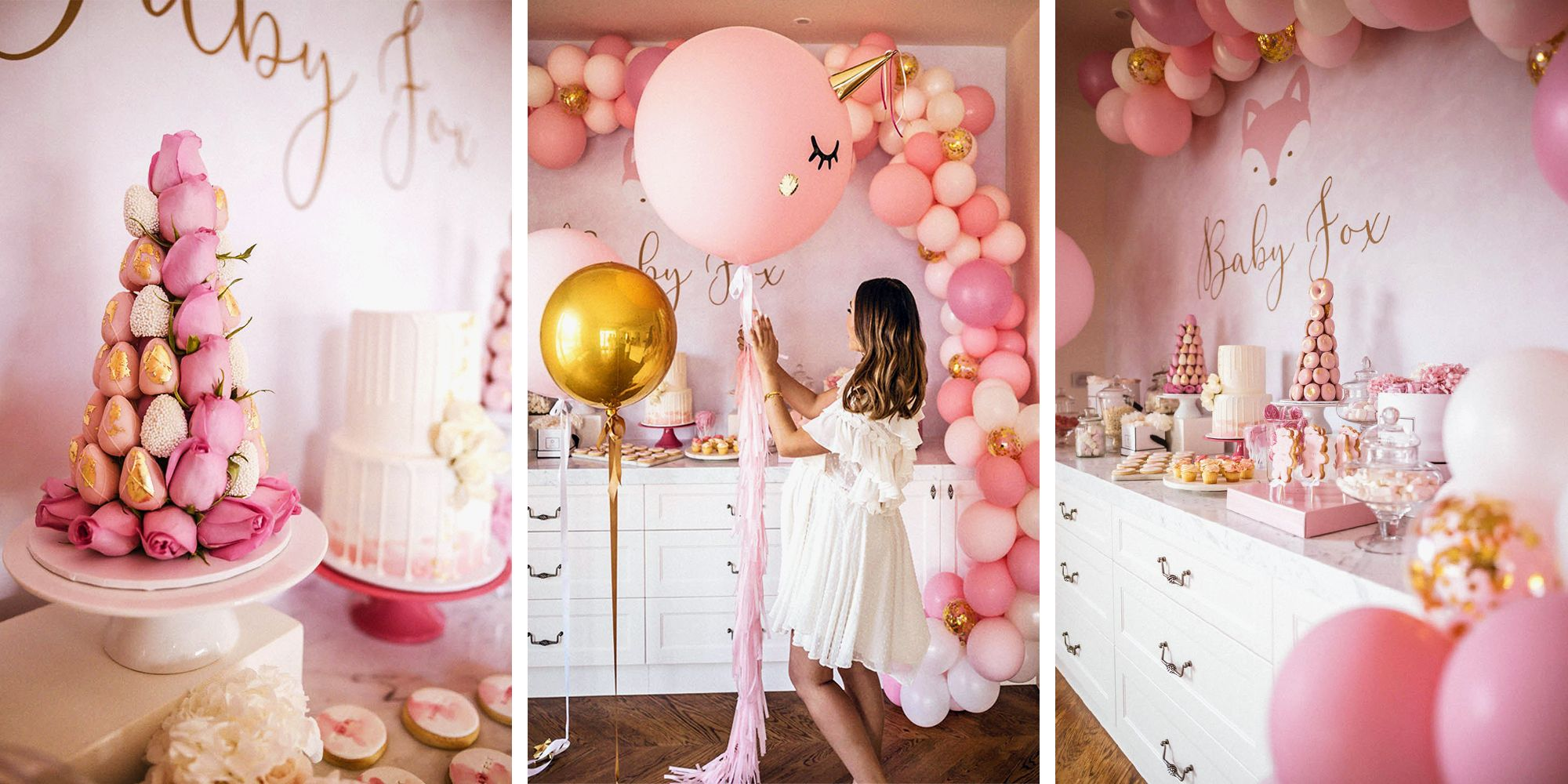 7 Best Baby Shower Ideas for 2018  Trendy Baby Shower Decorations  Themes
