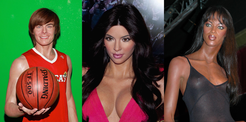 worst celebrity wax figures ugly