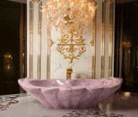 Baldi Rose Quartz Crystal Bathtubs Cost Over $1 Million ...