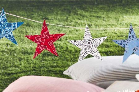 Summer DIY Crafts Star Bunting