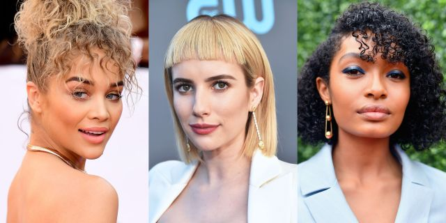 15 pretty bangs trends of 2018 - new bangs hairstyles