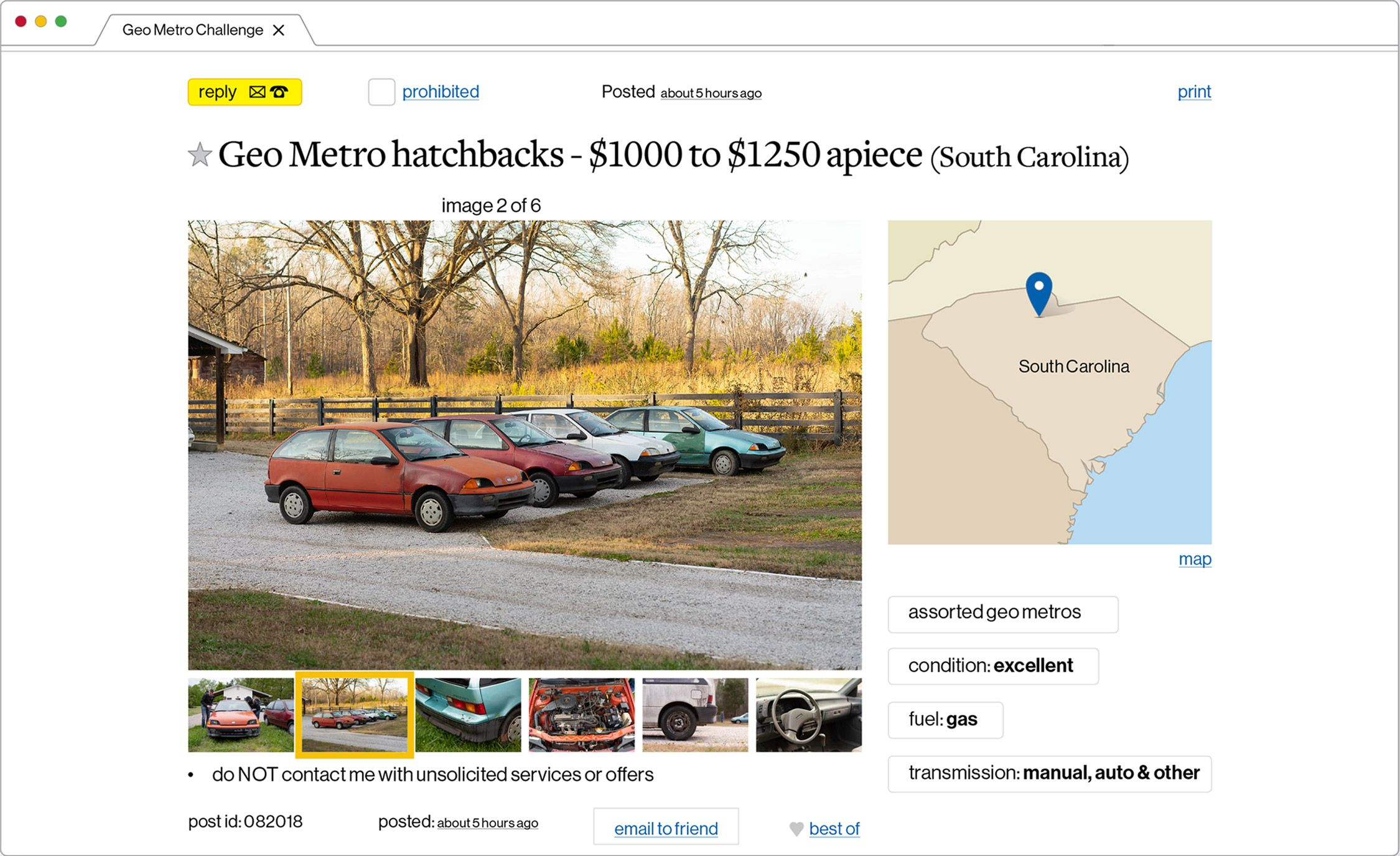 small resolution of battle of the beaters v the geo metro craigslist cup feature geo metro 1 0 engine parts diagram