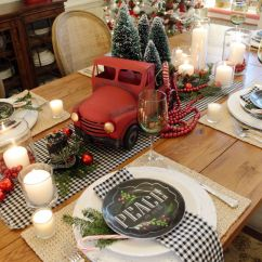 Cheap Center Tables For Living Room My Is So Dark 35+ Best Christmas Table Settings - Decorations And ...