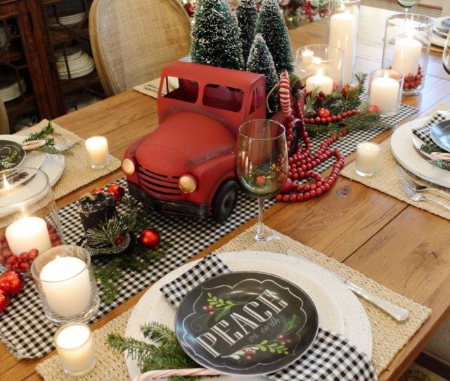 Best Christmas Table Settings Decorations And Centerpiece Ideas For Your Christmas Table