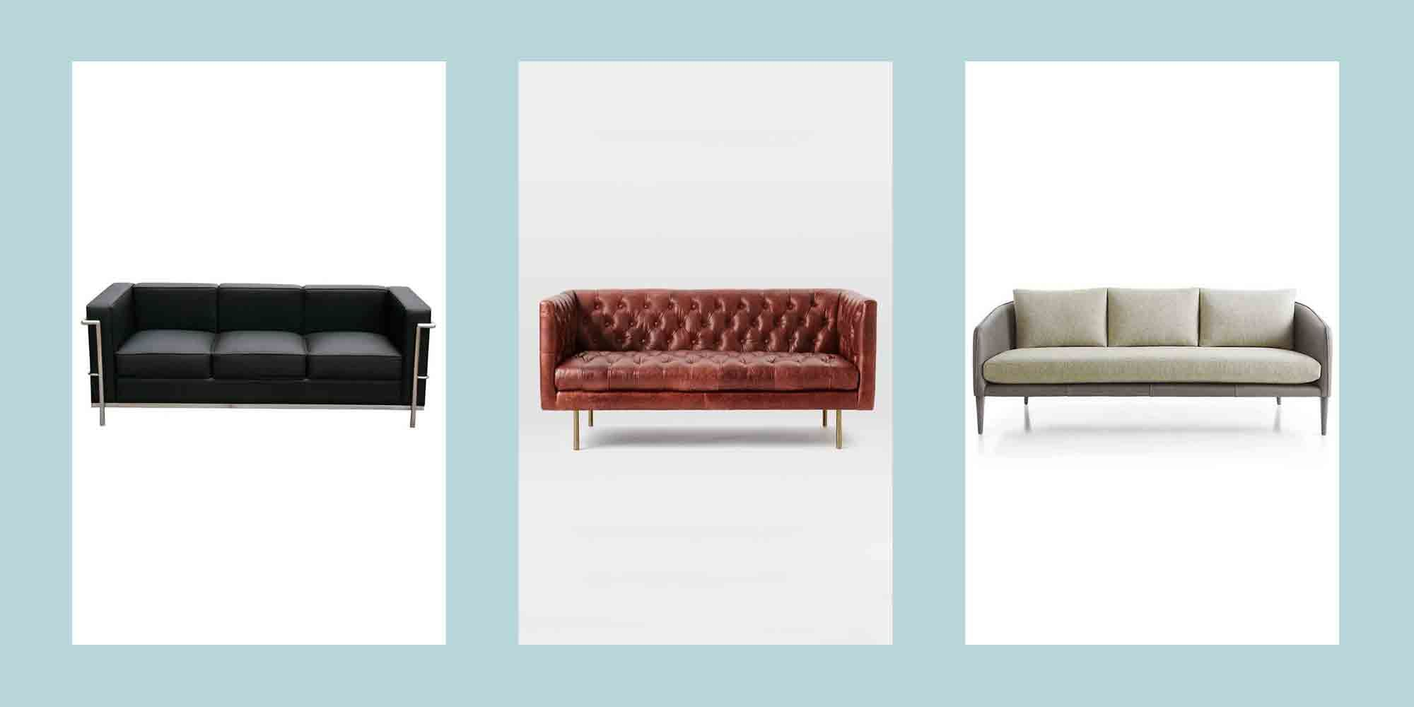 15 Best Leather Sofas To Buy In 2019 The Best Leather Couches