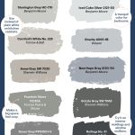 42 Best Grey Paint Colors Top Shades Of Gray Paint