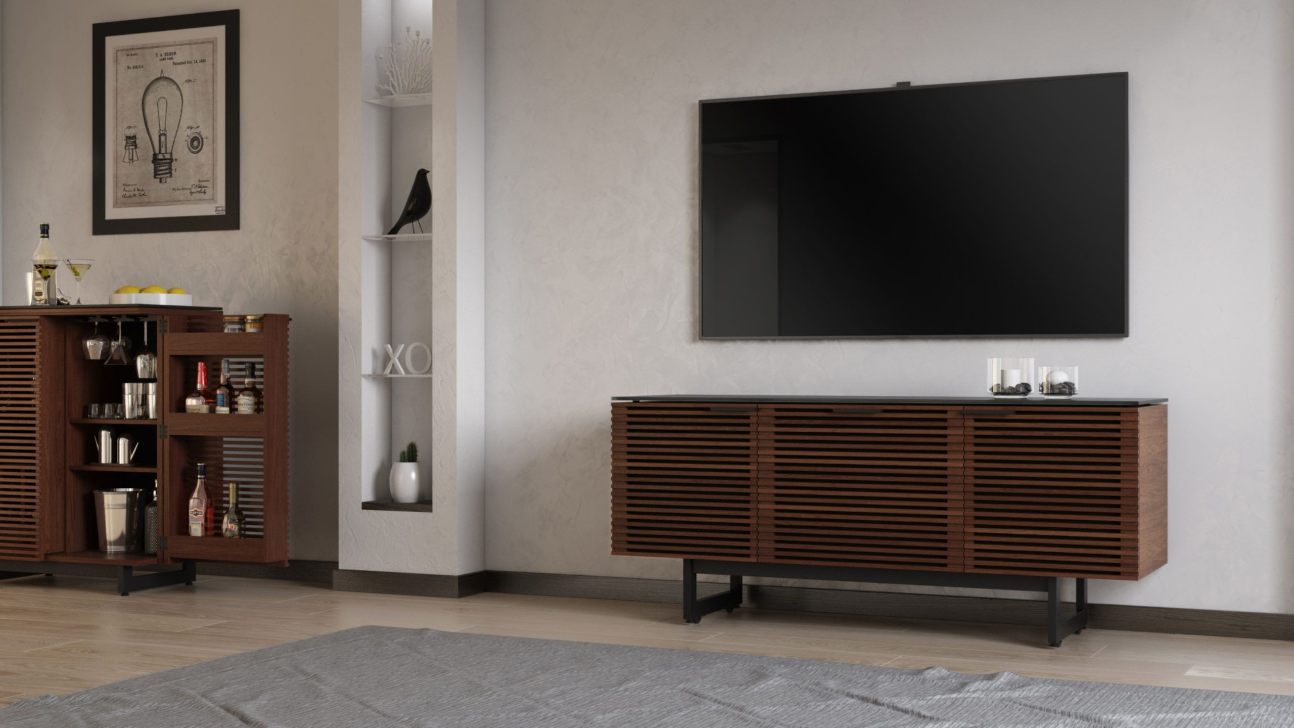 media furniture for your home audio system