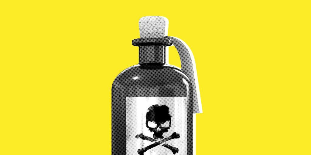 Spouse poisoning? Sounds like a movie…..